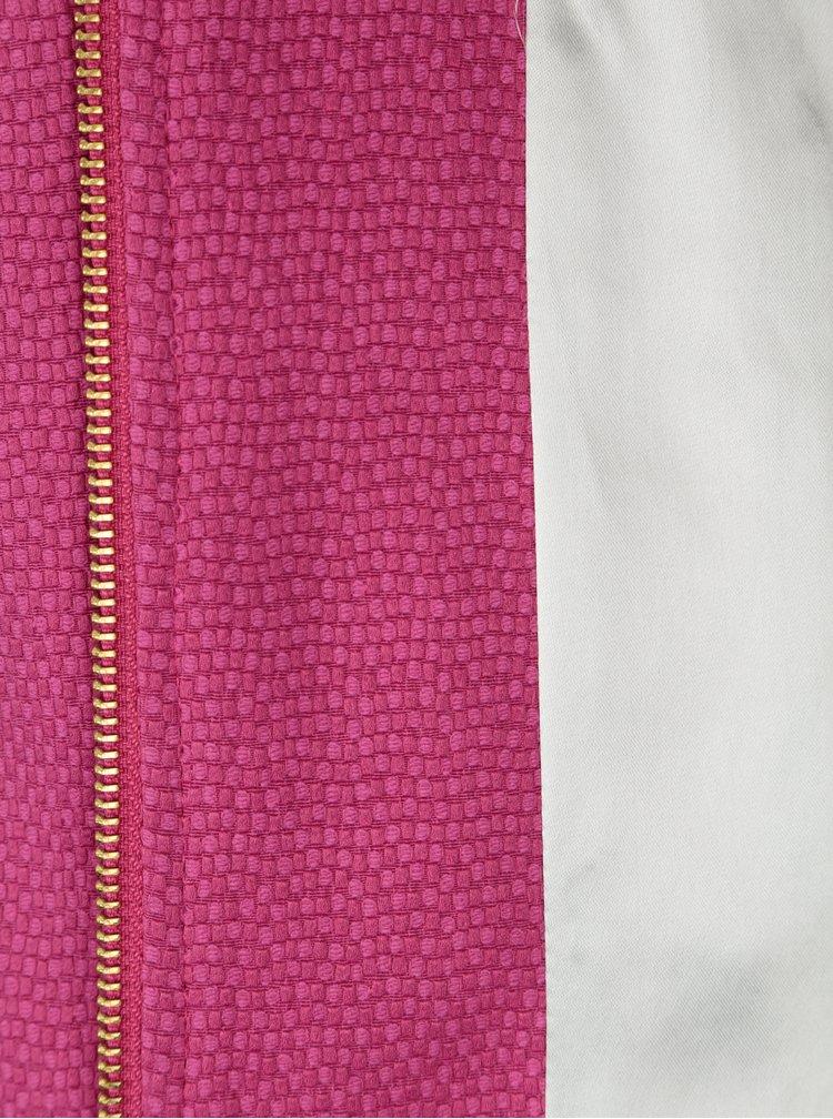 8268fec9d0 Ružový dámsky kabát Pietro Filipi