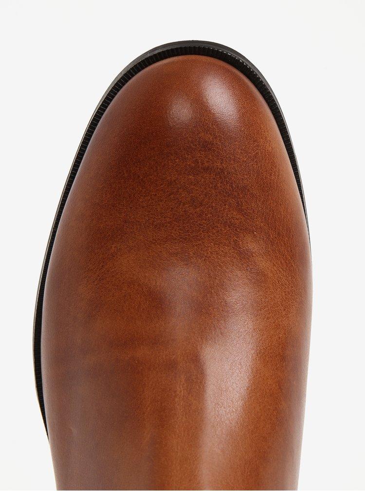 Světle hnědé pánské kožené chelsea boty Royal RepubliQ