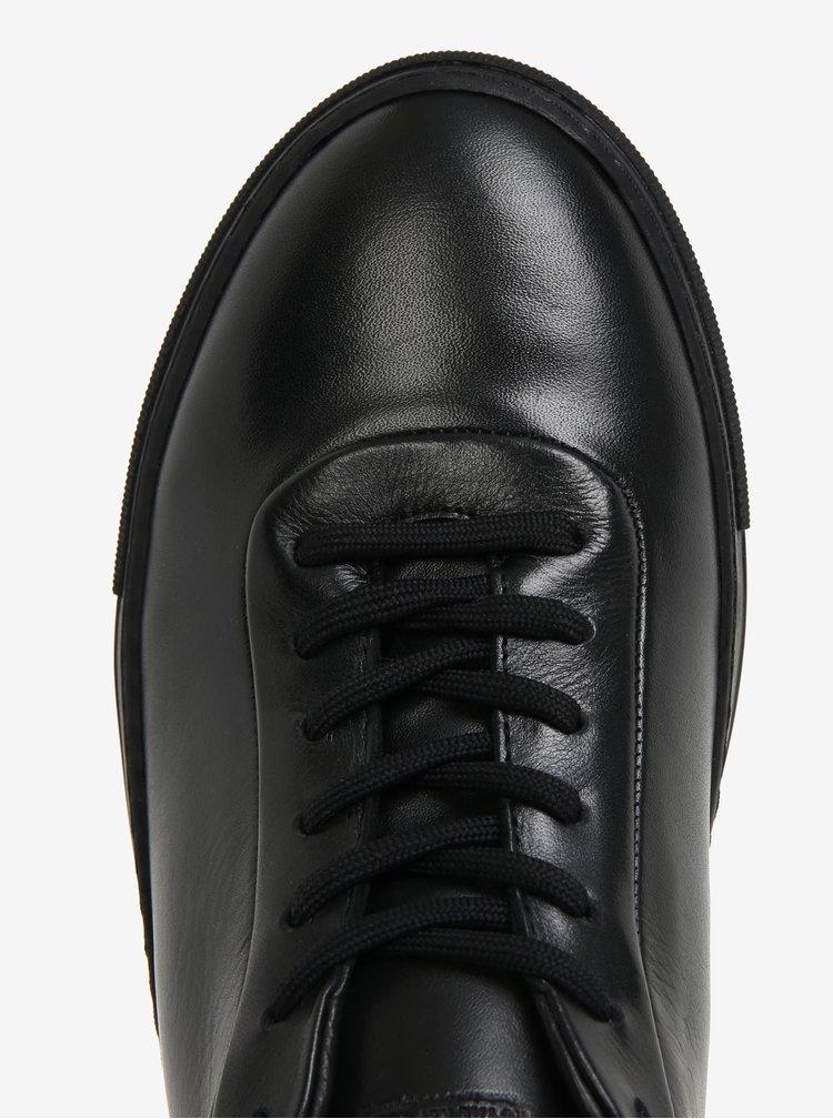 Černé pánské kožené tenisky Royal RepubliQ