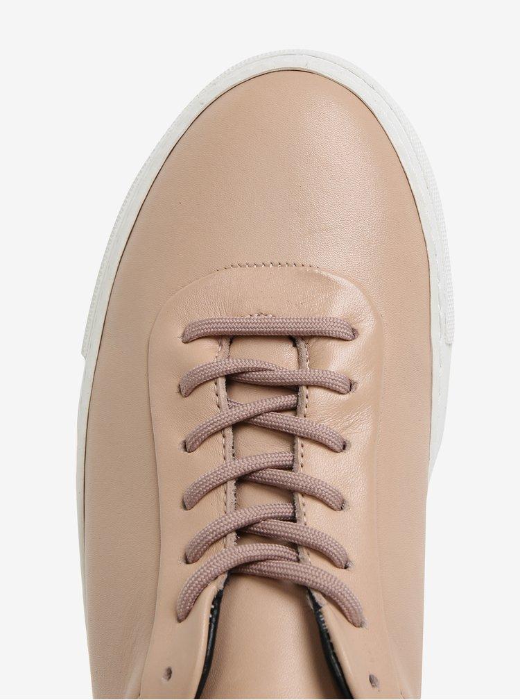 Béžové pánské kožené tenisky Royal RepubliQ