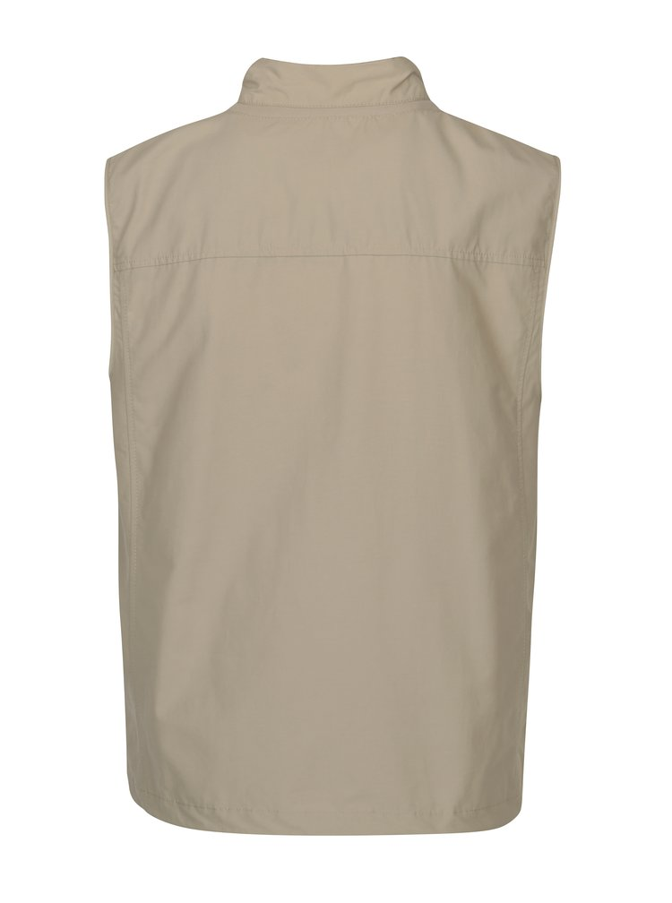 Béžová pánská vesta Geox