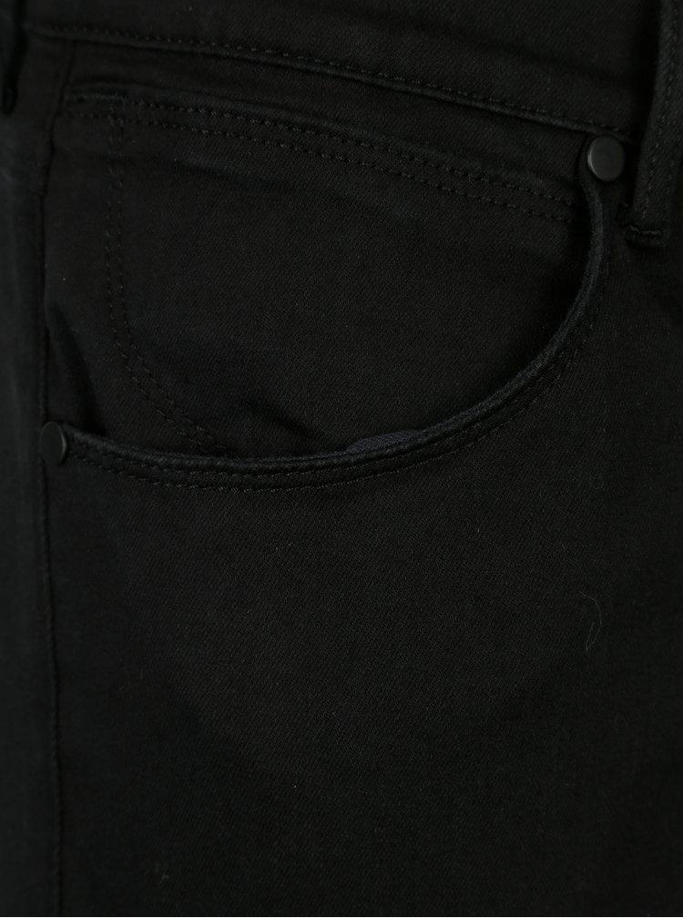 Černé pánské slim džíny Wrangler Larston