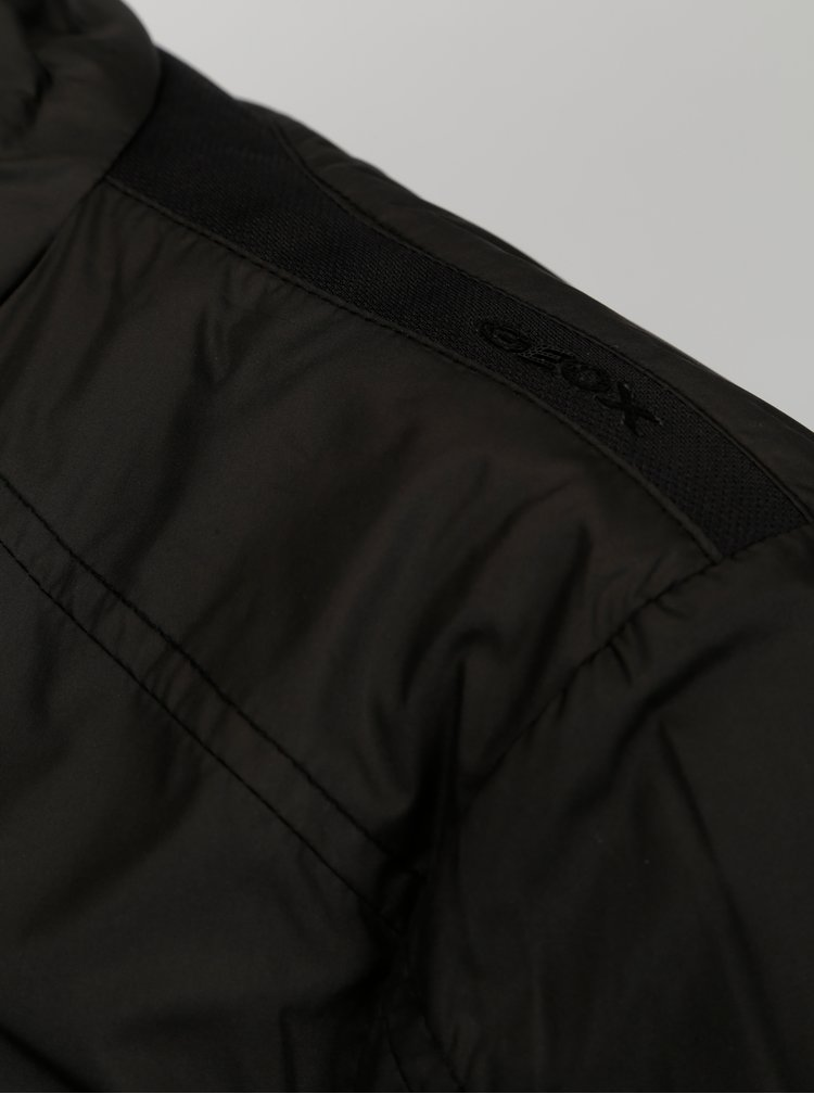 Černá dámská lehká bunda Geox