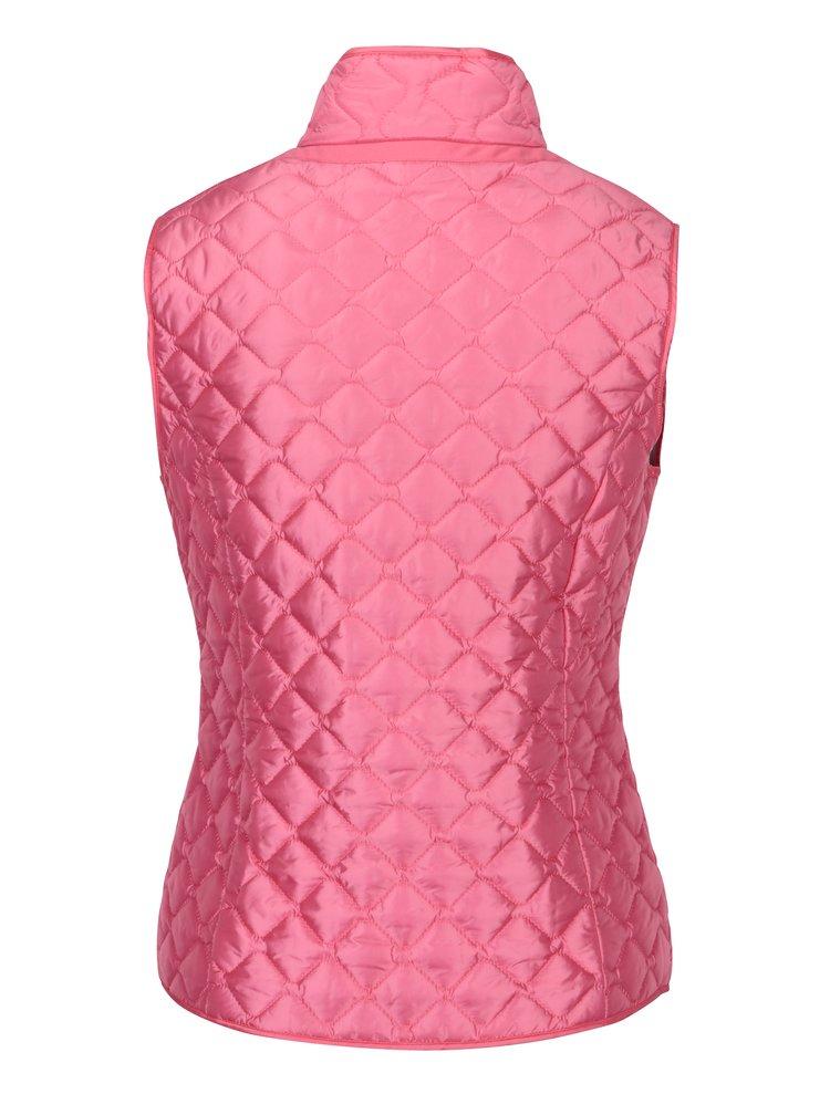 Vesta matlasata roz impermeabila pentru femei Geox