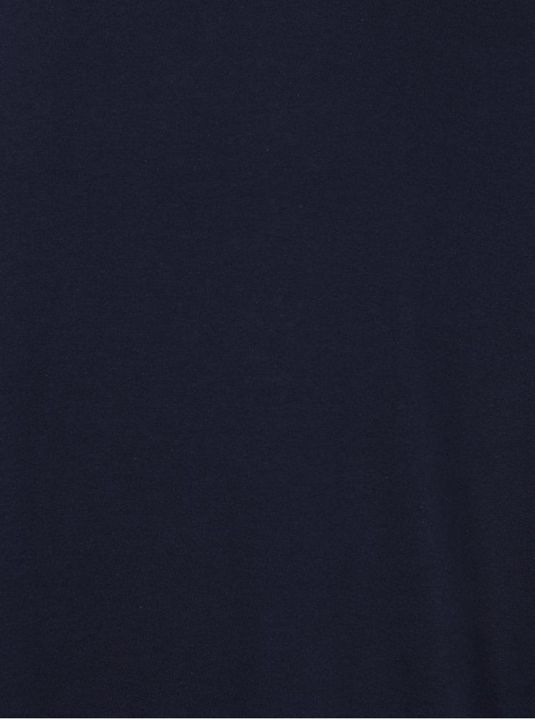 Modré pánské regular fit tričko Burton Menswear London