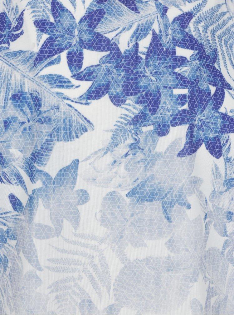 Krémové pánské tričko s květinami Burton Menswear London