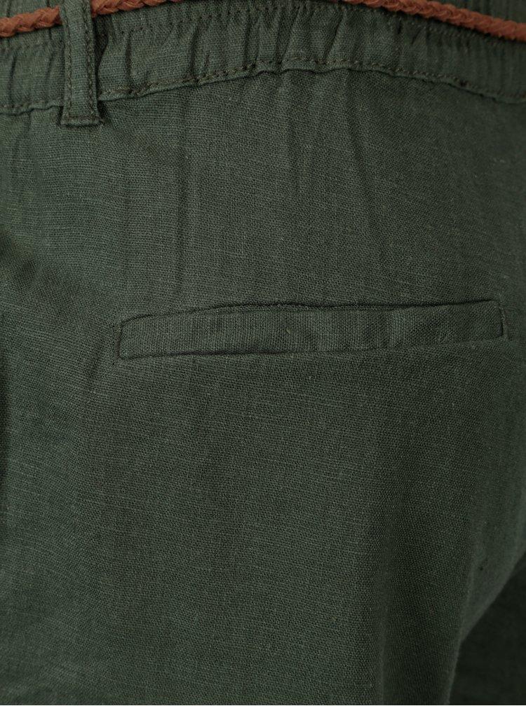 Zelené těhotenské kalhoty Mama.licious Beach