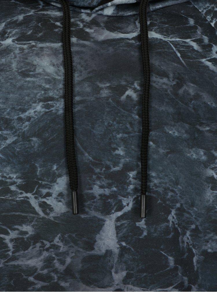 Černá pánská mikina se vzorem Burton Menswear London