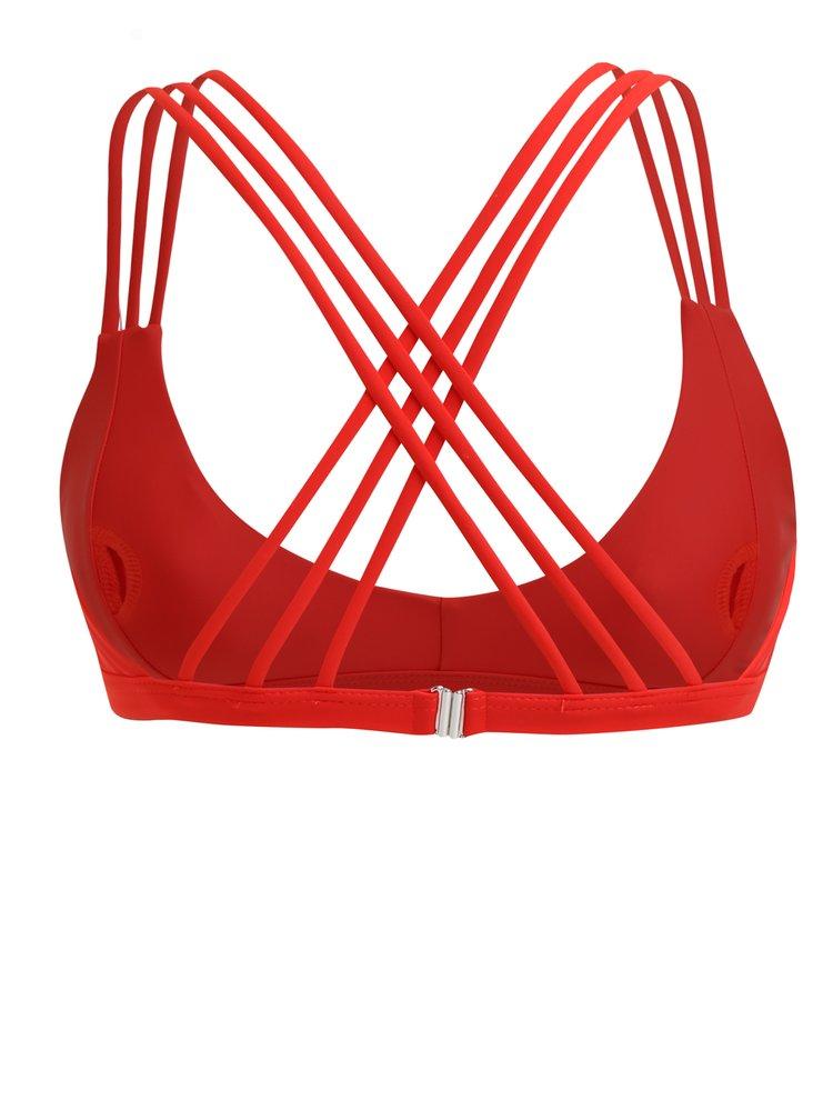 Červený horní díl plavek Y.A.S Ibiza