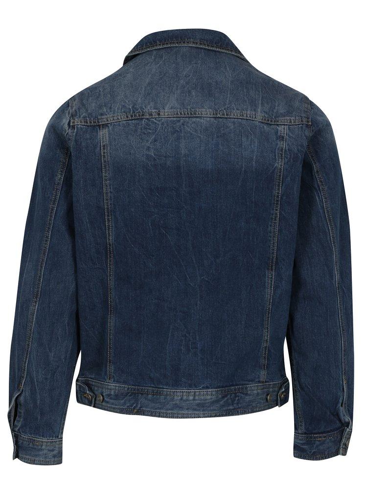Jacheta albastra din denim pentru barbati - s.Oliver