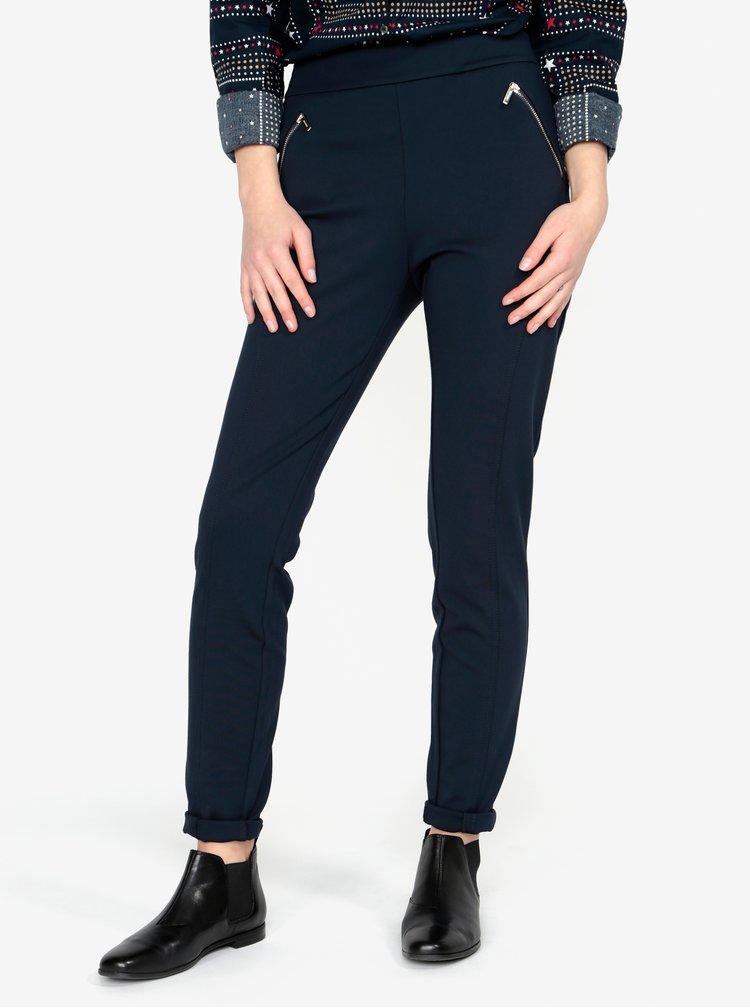 Tmavě modré kalhoty Tommy Hilfiger
