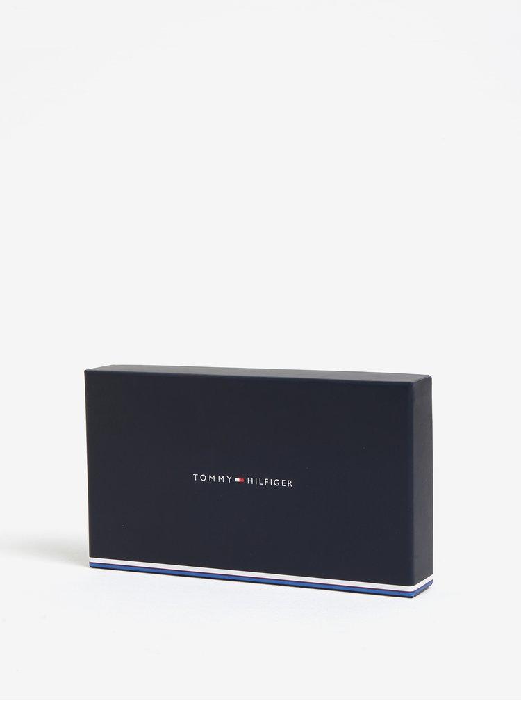 Tmavě modrá dámská peněženka na zip Tommy Hilfiger