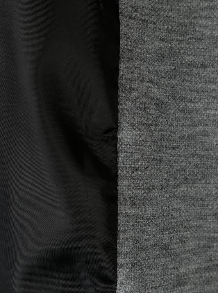 Šedé žíhané sako Jacqueline de Yong Green