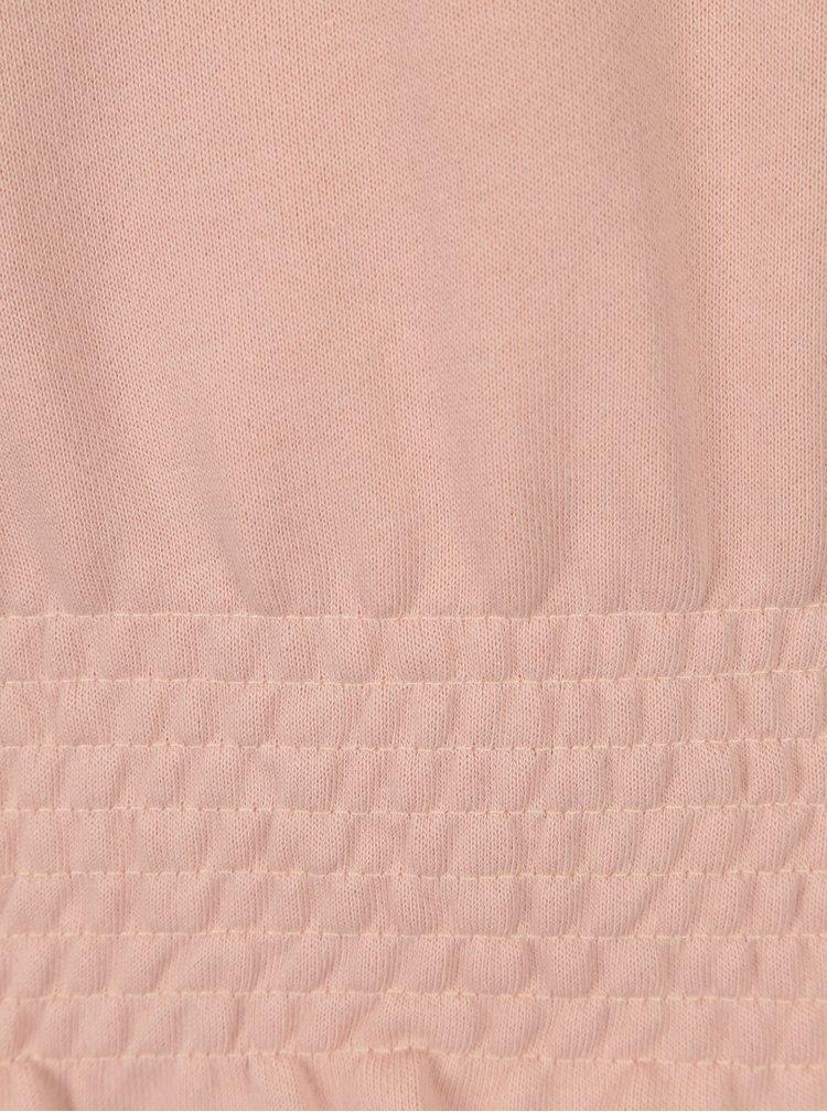 Bluza roz somon cu terminatii elastice Jacqueline de Yong Neel