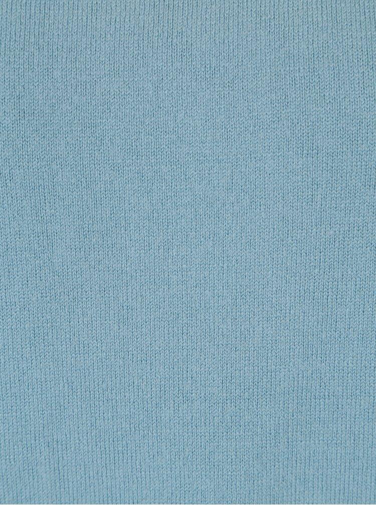 Pulover albastru cu terminatie rotunjita Jacqueline de Yong Limbo