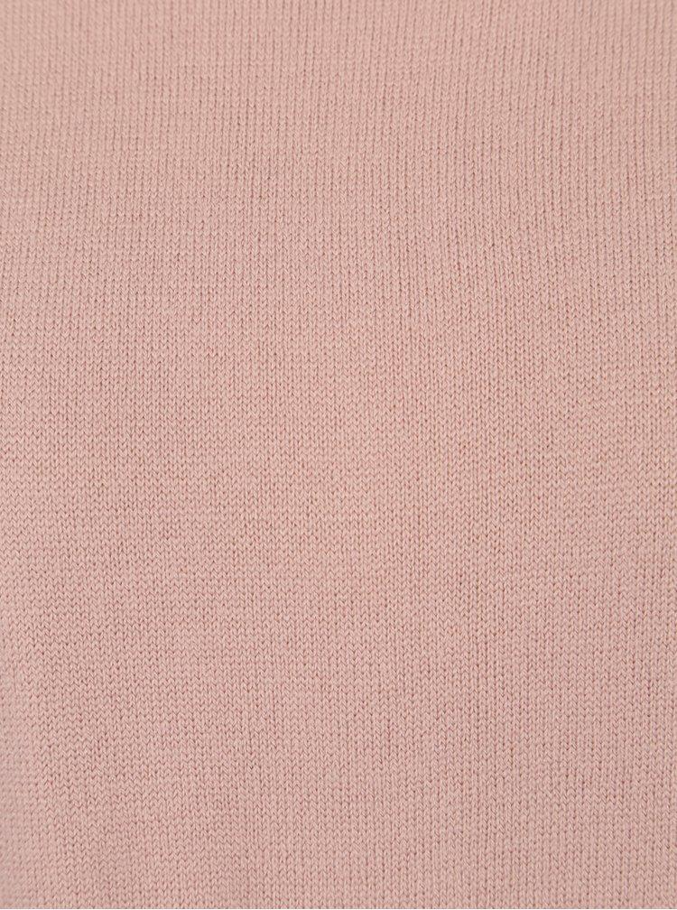 Růžový volný svetr Jacqueline de Yong Limbo