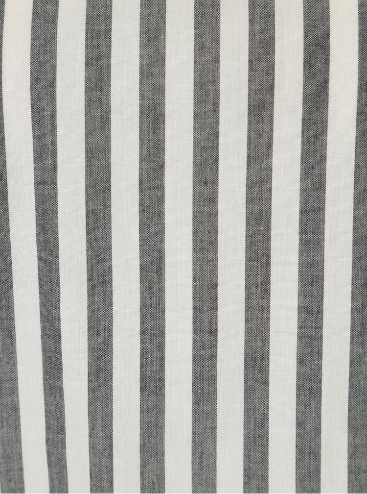 Krémovo-šedá pruhovaná halenka Jacqueline de Yong Battle