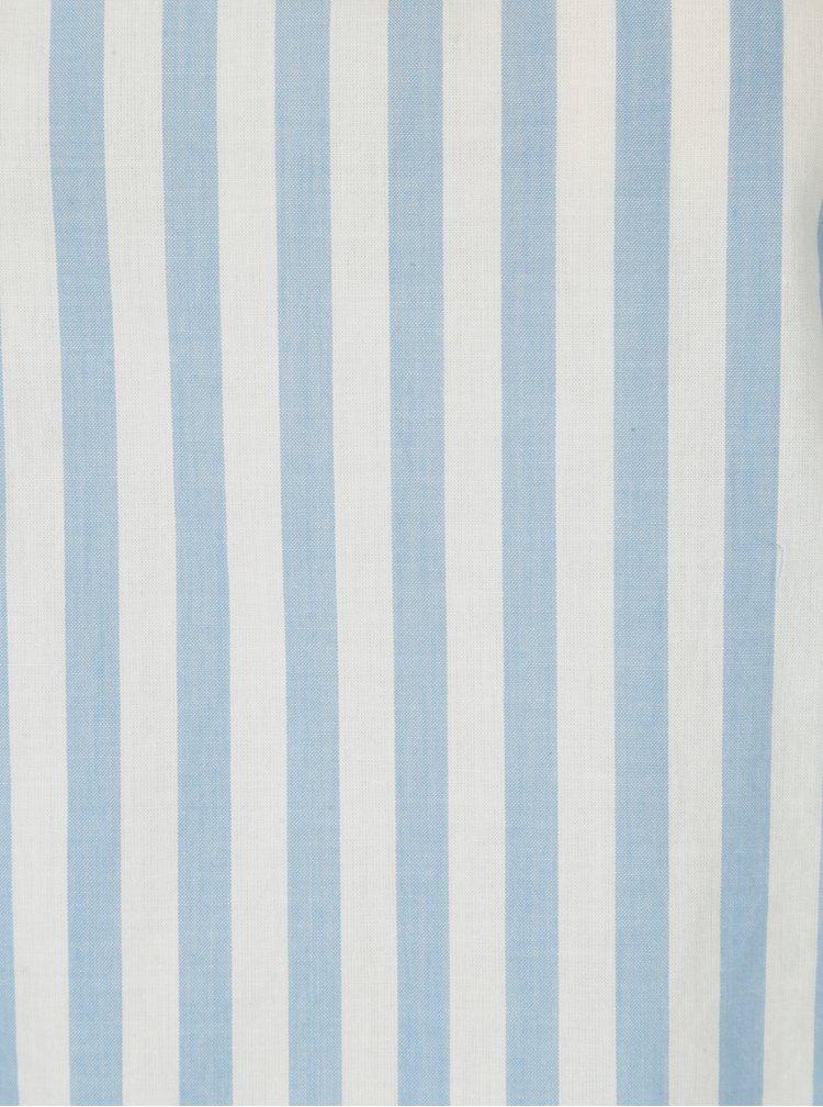 Krémovo-modrá pruhovaná halenka Jacqueline de Yong Battle