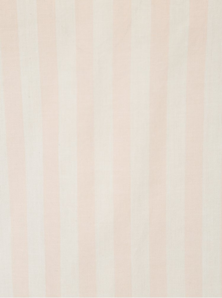 Krémovo-růžová pruhovaná halenka Jacqueline de Yong Battle