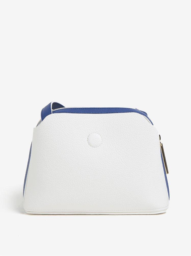 Modro-krémová crossbody kabelka Tommy Hilfiger
