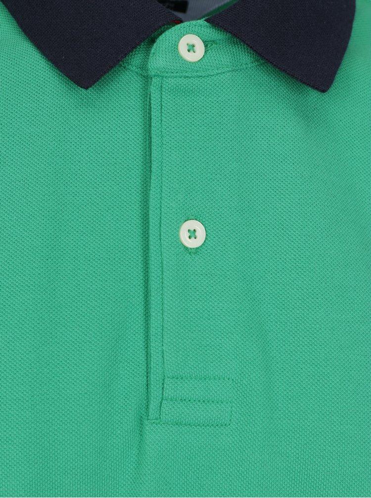 Zelená pánska polokošeľa Tommy Hilfiger