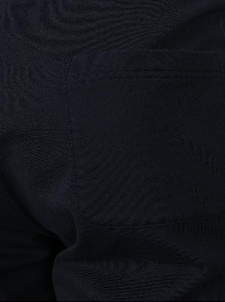 Tmavě modré pánské kraťasy Tommy Hilfiger
