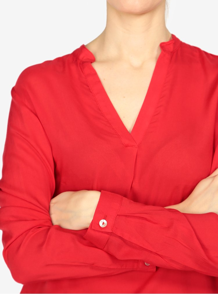 Červená dámská halenka s.Oliver