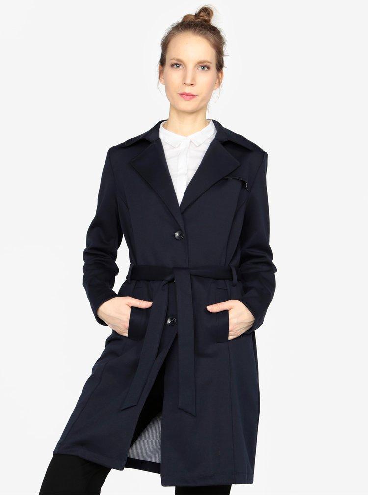 Tmavě modrý dámský kabát s.Oliver