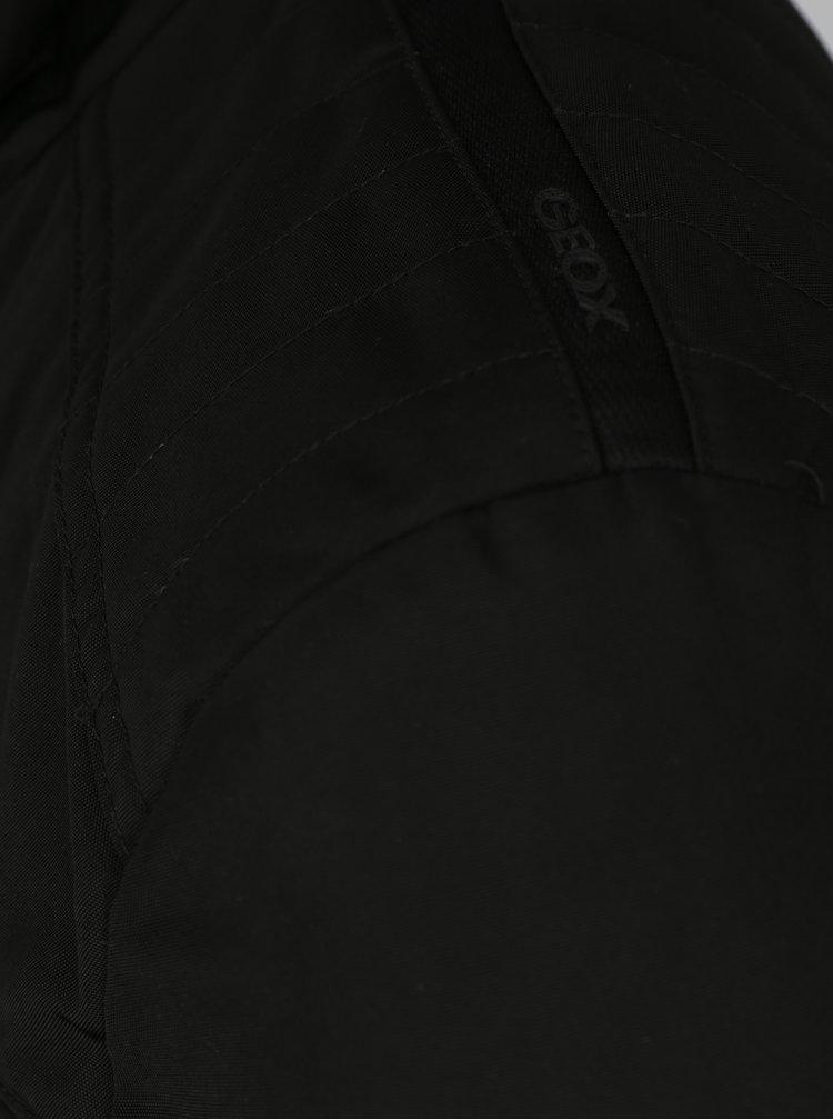 Černá pánská funkční bunda Geox