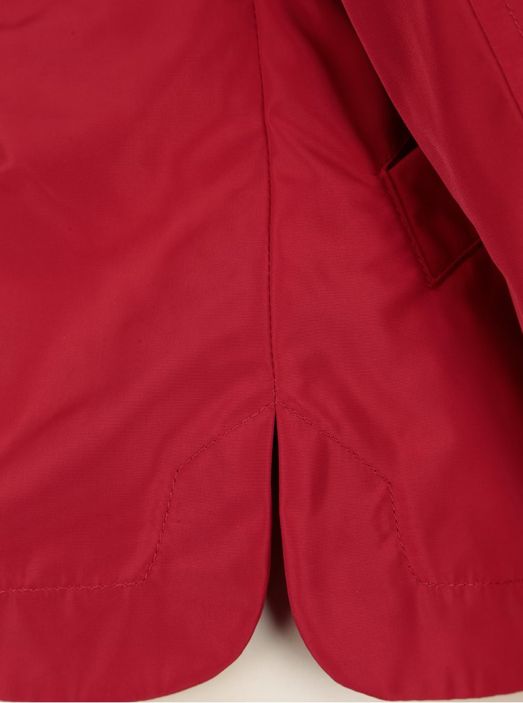 Červená dámská funkční bunda Geox