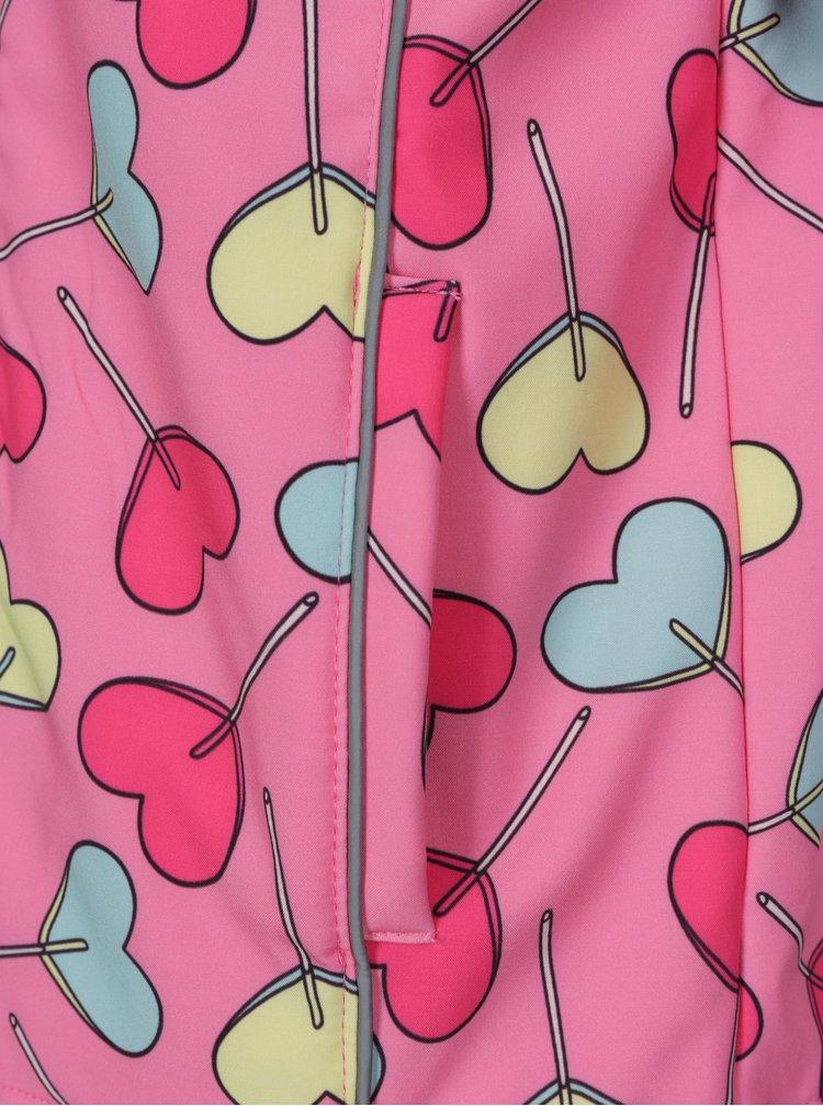 Růžová holčičí nepromokavá bunda 5.10.15.