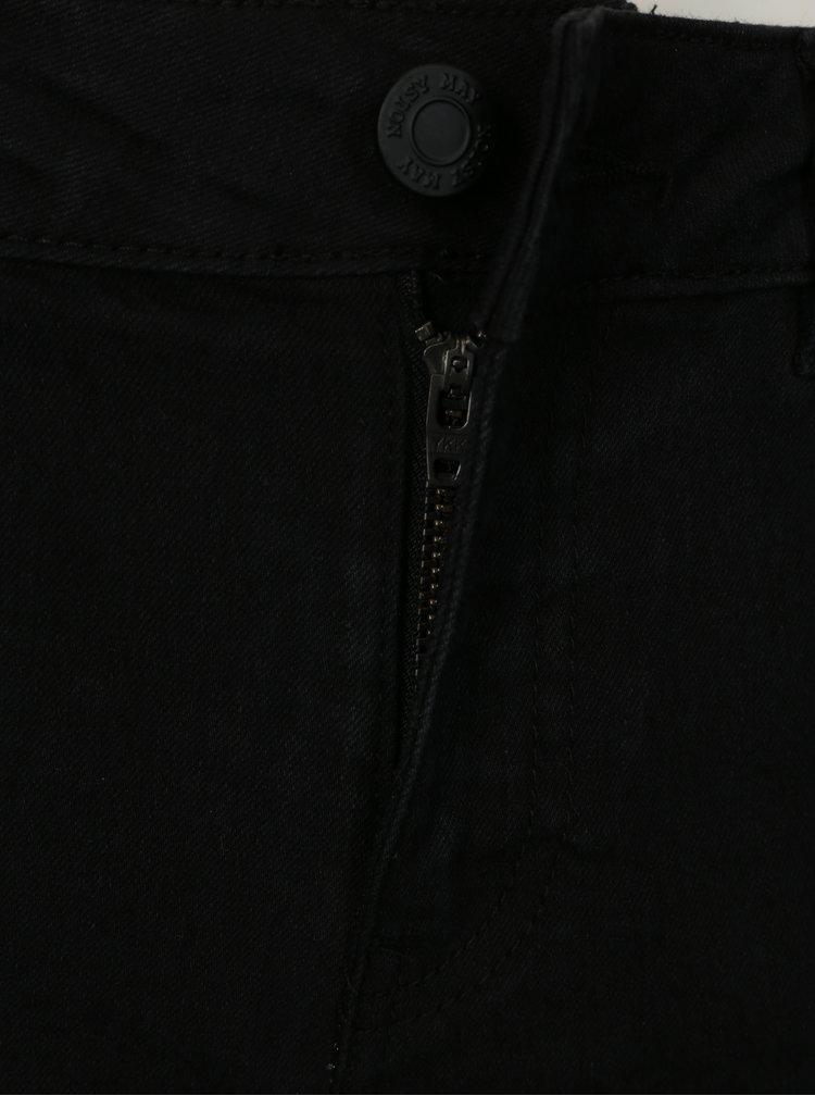 Pantaloni scurti negri din denim  Noisy May Be Lucy