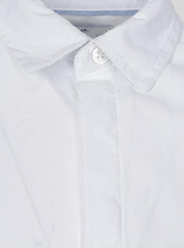Bílá klučičí košile s dlouhým rukávem 5.10.15.