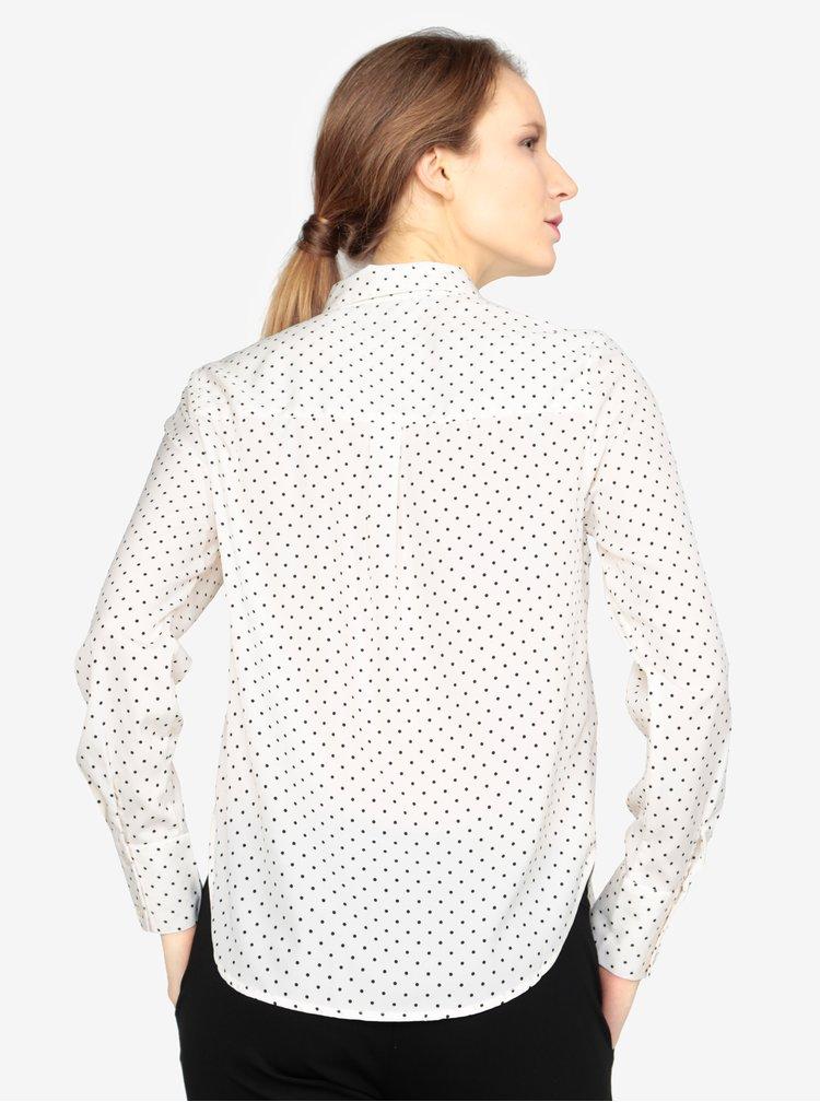 Černo-krémová vzorovaná košile VERO MODA Nicky