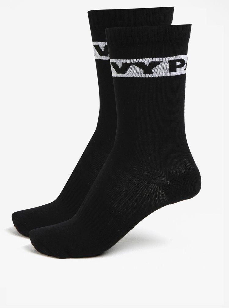 Sada dvou párů ponožek v černé barvě Ivy Park