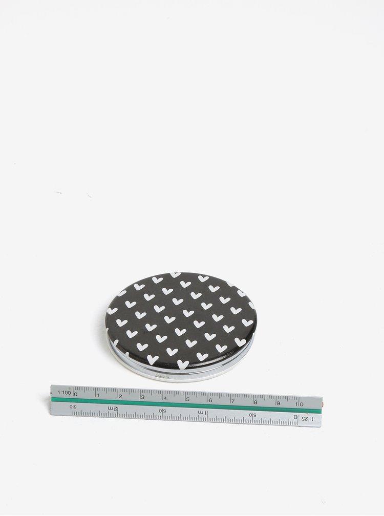 Krémové kompaktní zrcátko s potiskem CGB Gorgeous