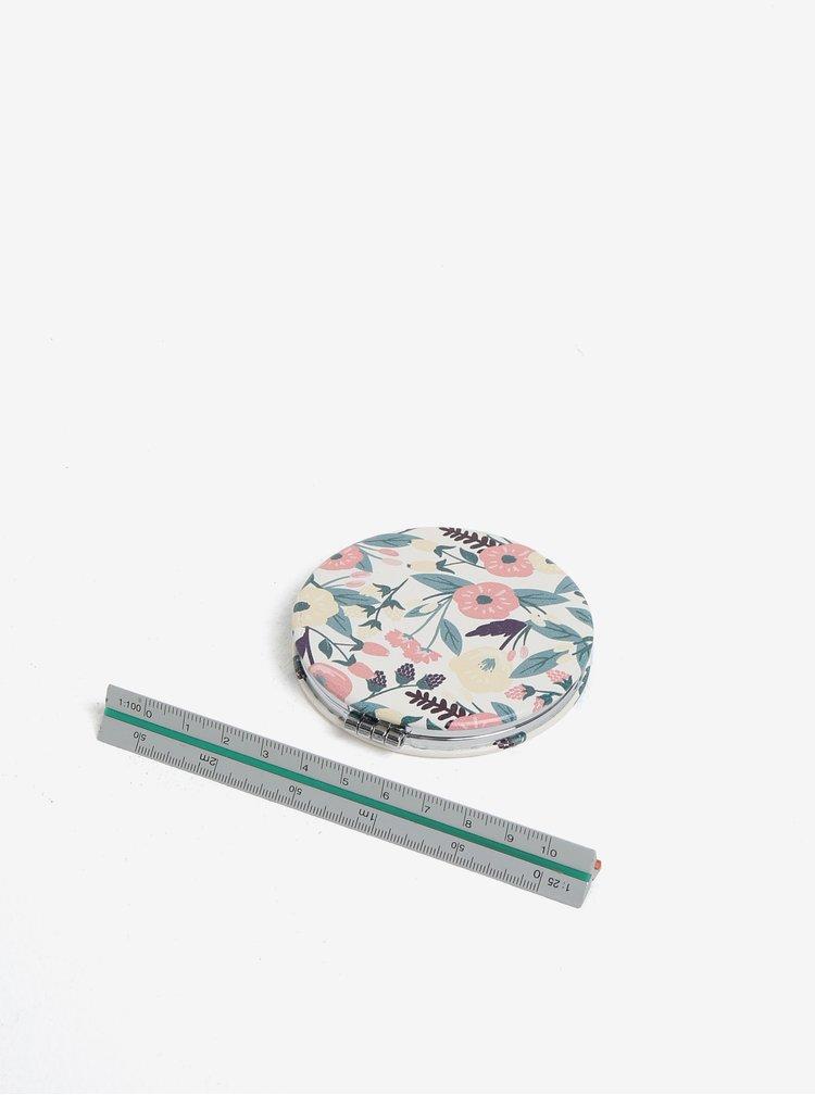 Krémové kompaktní zrcátko s nápisem CGB Super Mum