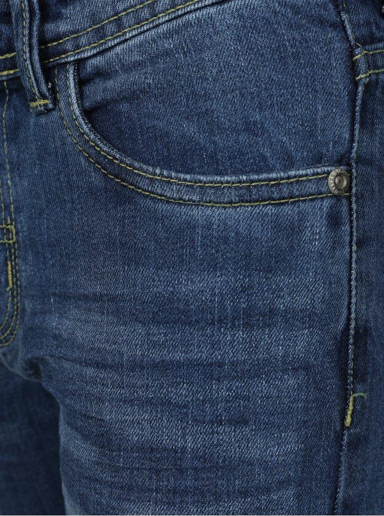 Modré klučičí regular džíny 5.10.15.