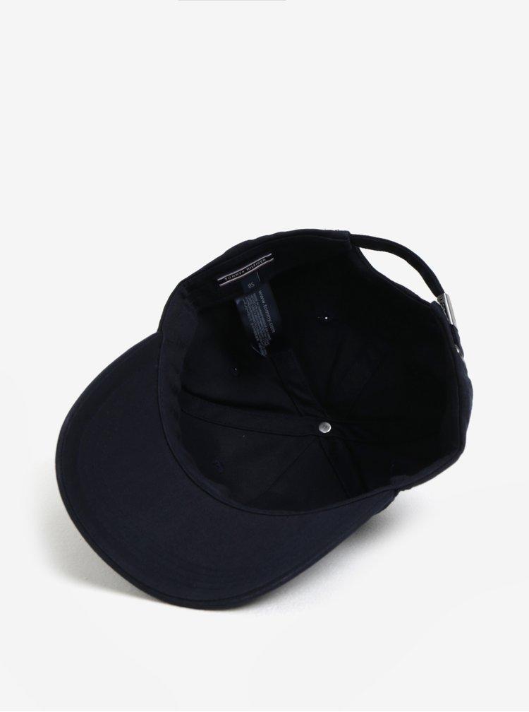 Tmavě modrá unisex kšiltovka Tommy Hilfiger