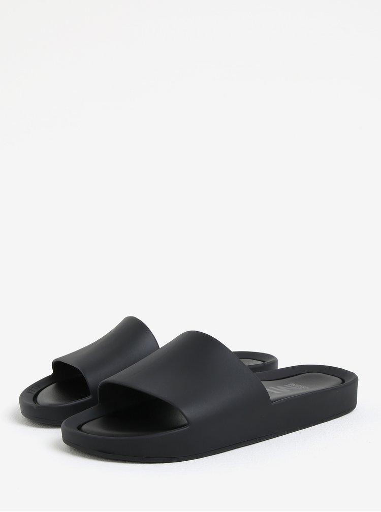 Černé pantofle Melissa Beach Slide