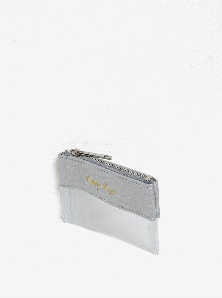 Transparentní peněženka na mince CGB