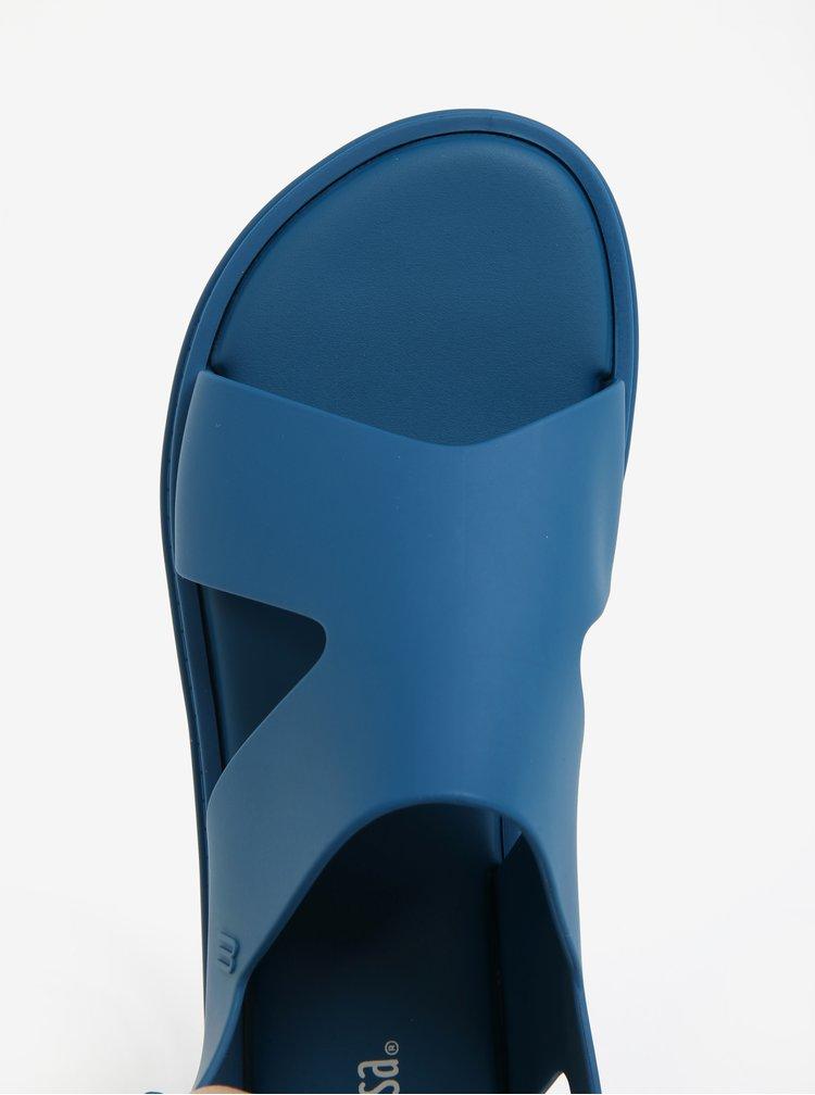 Modré sandály s přezkou Melissa Free