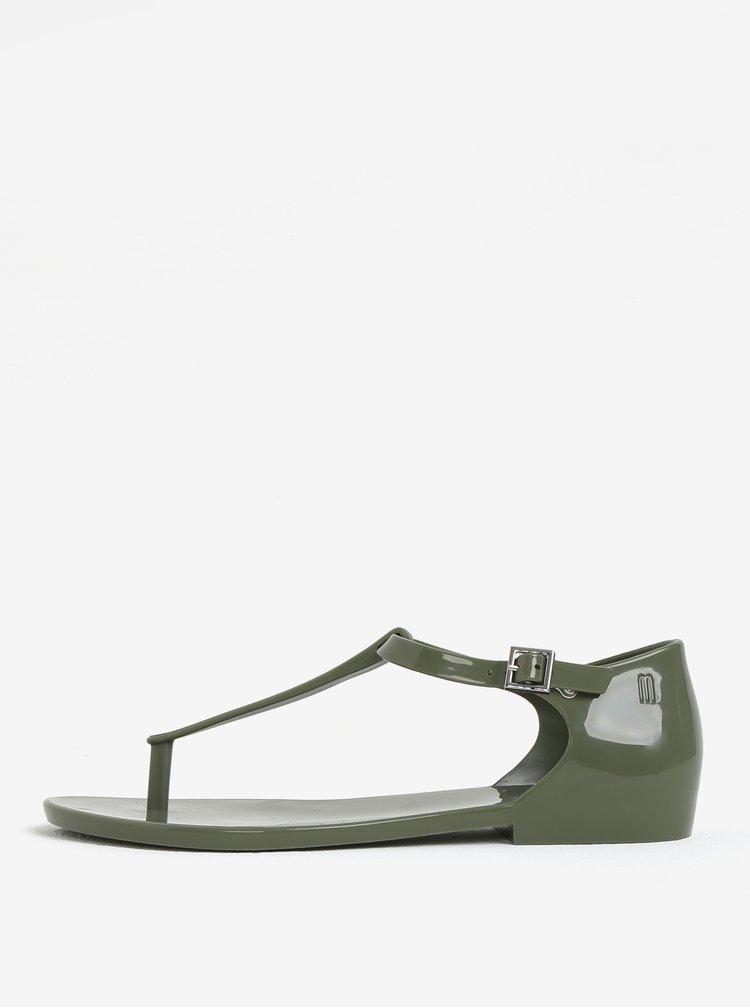 Sandale kaki impermeabile Melissa Honey