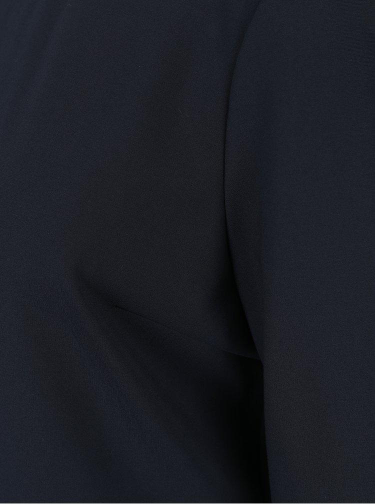 Tmavě modré šaty s 3/4 rukávem Tommy Hilfiger