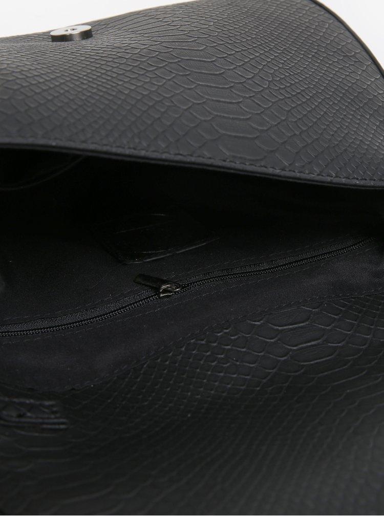 Černá vzorovaná crossbody kabelka MISSGUIDED