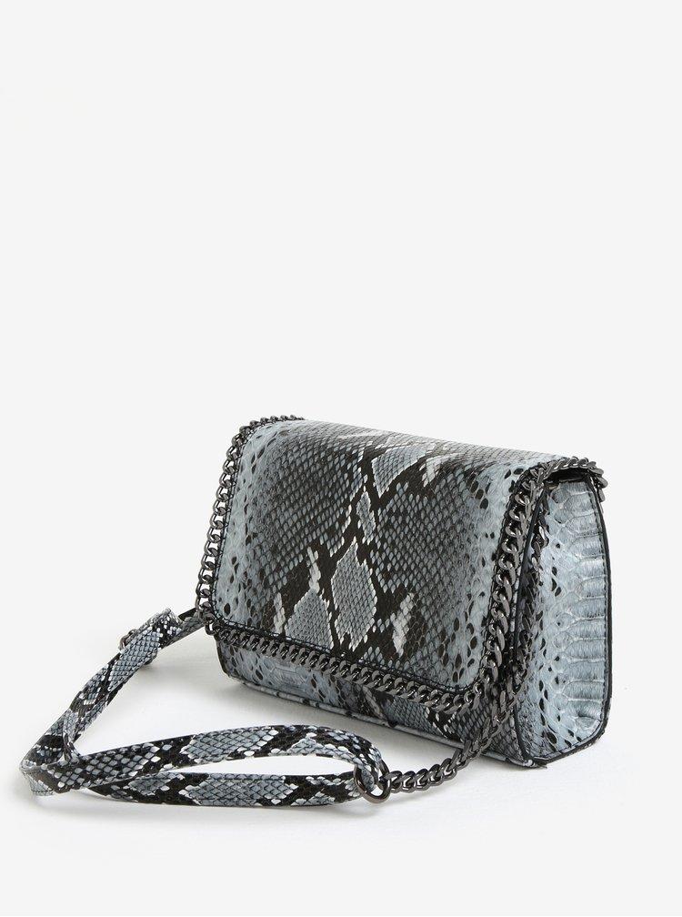 Černo-šedá crossbody kabelka MISSGUIDED