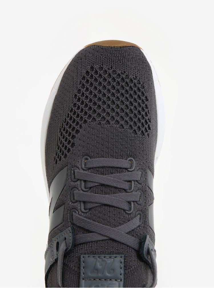 Tmavě šedé dámské tenisky New Balance WRL247