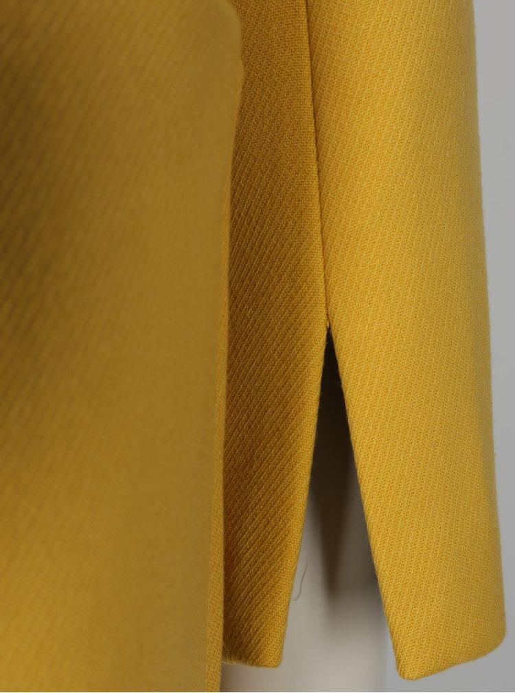 Žlutý kabát s kapsami Dorothy Perkins