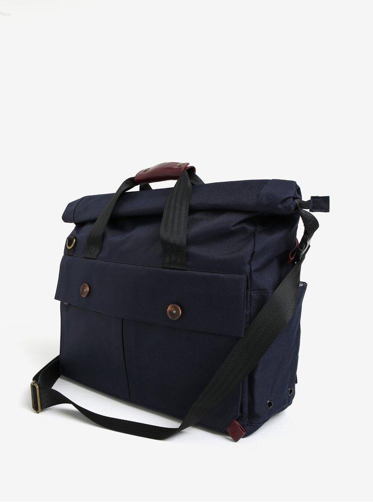 """Tmavě modrá voděodolná taška na notebook PKG 15"""""""