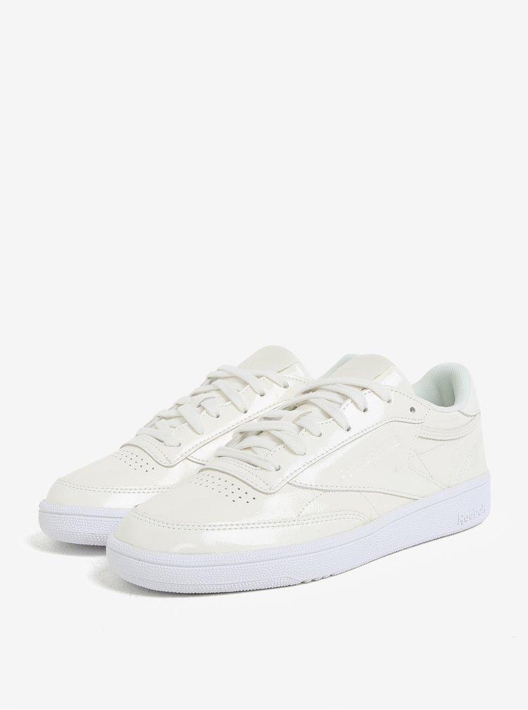 Pantofi sport crem pentru femei Reebok Club C 85